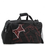 Tapout Stitch Duffle Bag-Black/Red