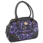 Buffalo David Bitton Roxanne Satchel Bag -Purple