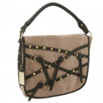 Buffalo David Bitton Elizabeth Foldover Handbag - Brown