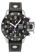 Ingersoll IN2803BGR  Men's Bisson 12 Chronograph Watch-Black