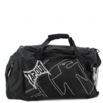 Tapout Stitch Duffle Bag-Black/White