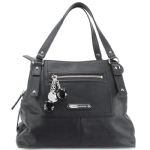 Juicy Couture Leather Pippa Bag-Black