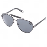True Religion Brody Aviater Sunglasses - Black