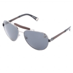 True Religion Brody Aviater Sunglasses - Gunmetal