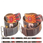 Ed Hardy EH1393 Mens Daybreak Leather Belt