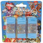 Ed Hardy Esme All Over Print Eraser -  Blue