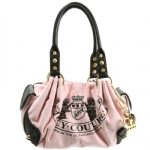Juicy Couture Old School Baby Fluffy Handbag-Pink